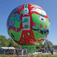 Art Wallet - The Dot 6 1 - Toyism Art Movement