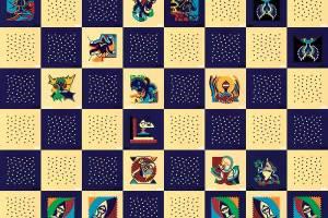 Painting - Kasparov Deep Blue - Toyism. Buy art online.