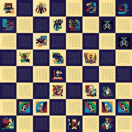 Schilderij - Kasparov Deep Blue - Toyisme. Hedendaagse kunst online kopen.