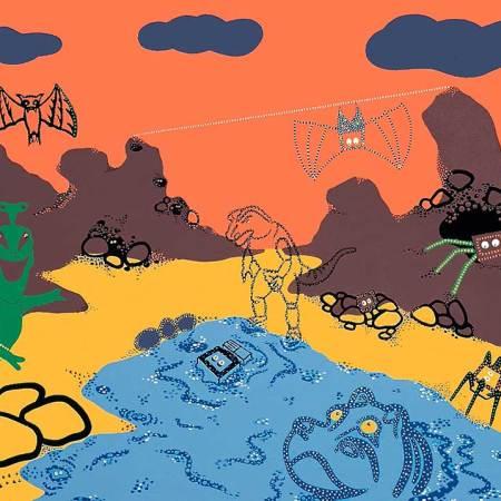 Schilderij - Computers Prehistorie - Toyisme. Hedendaagse kunst online kopen.