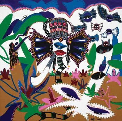 Painting - Opium Laos - Toyism. Buy art online.