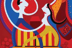 Painting - Dance Love Painting - Toyism. Buy art online.