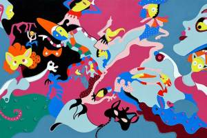 Grand Carnival   Painting   Toyism Art Movement