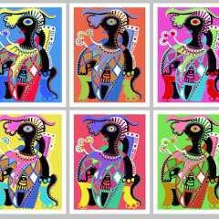 Fine Art Prints - The Joker Series - Toyism