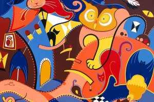 Fine Art Print - Silent Intruders Art Print- Toyism