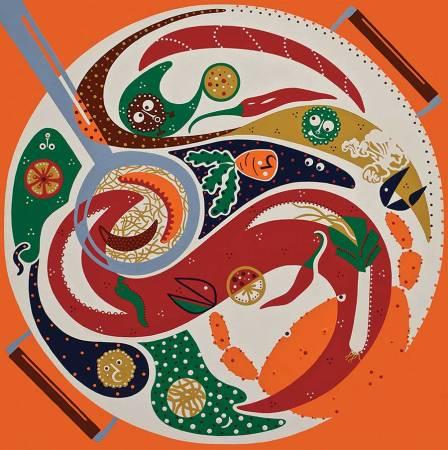 Silkscreen - Taste Collaboration Silkscreen - Toyism. Art for sale. Buy bestselling silkscreens online.