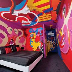 Dance of Love Room 2 - Hotel Dreams for Breakfast - Toyism Art Movement