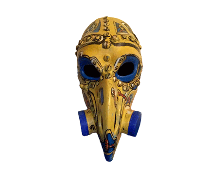 Toyism Mask Bird - Toyism Art Movement