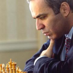 Garry Kasparov World Champion in Chess
