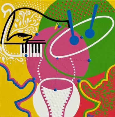 Schilderij - Carmina - Toyisme. Hedendaagse kunst online kopen.