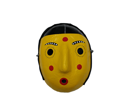 Toyism Mask Yellow - Toyism Art Movement
