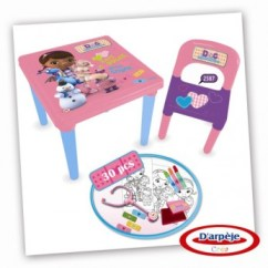 Doc Mcstuffins Chair Smyths Shiatsu Massager Activity Table And Accessories Reviews - Toylike