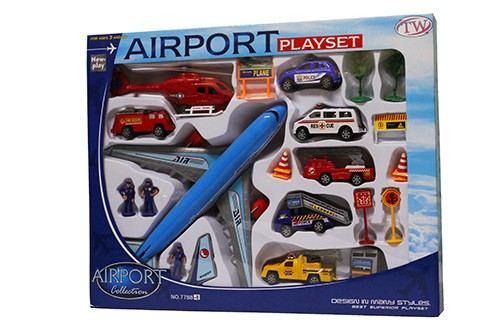 International Airport Toy Playset  77888  Toylococouk