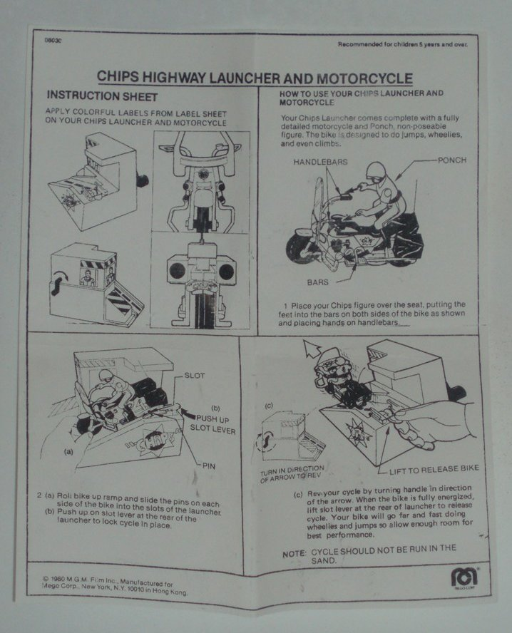 CHiPs: Highway Patrol Launcher