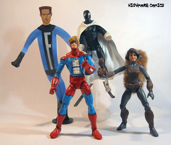 Homemade GLA action figures.  How cool are these?