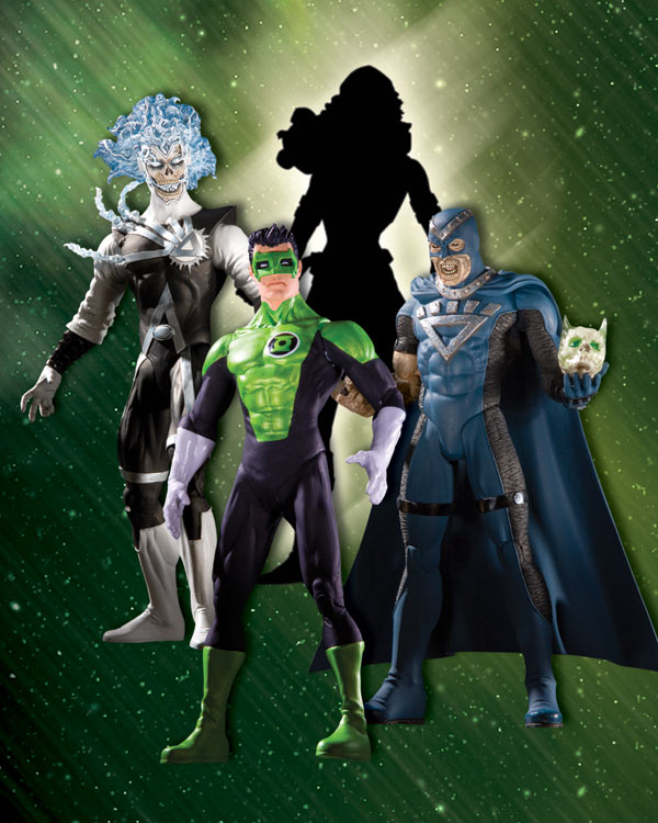 Blackest Night Series 4 Action Figures Raving Toy Maniac