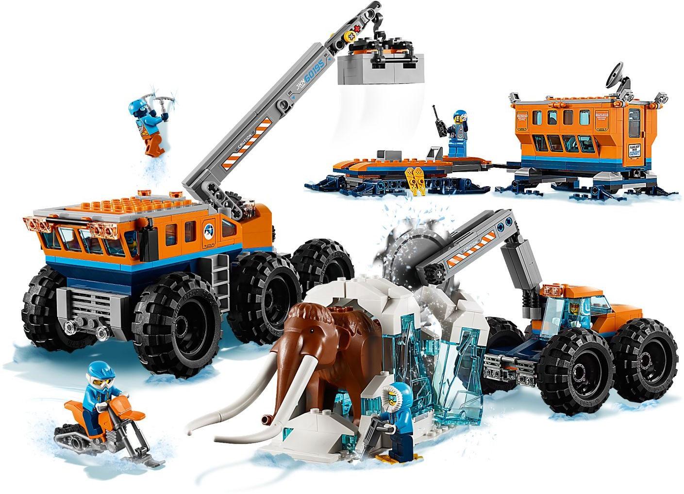 LEGO 60195 LEGO CITY Arctic Mobile Exploration Base