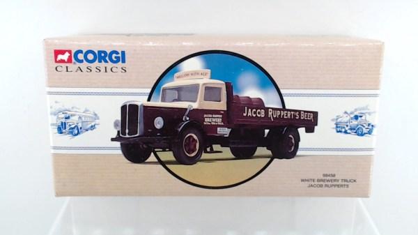 Corgi 98458 White Brewery Truck - Jacob Rupperts Usa