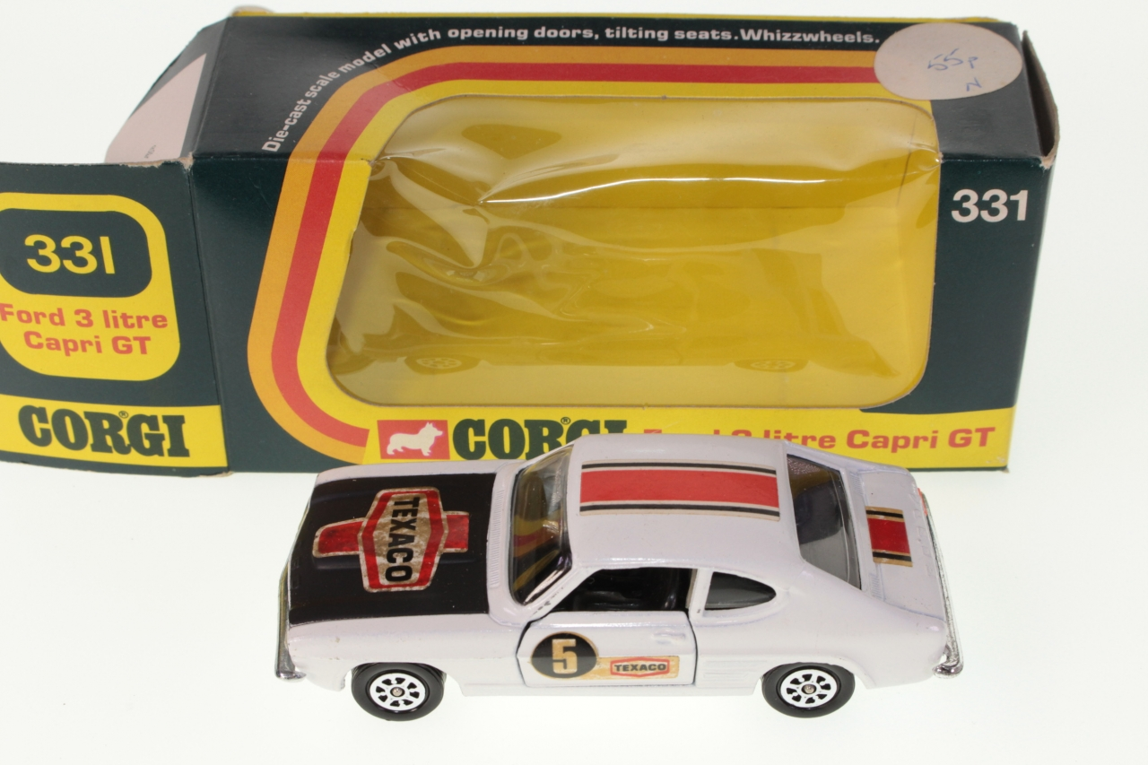 hight resolution of picture gallery for corgi 331 ford capri rally