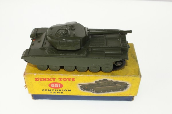 Dinky 651 Centurion Tank - Free Guide &