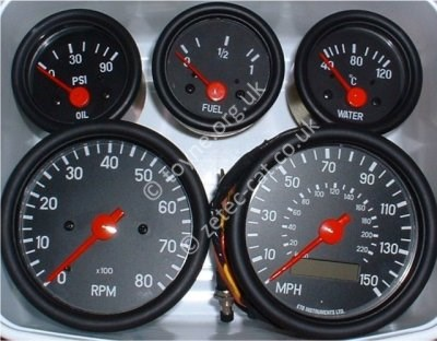 Pauls Kit Car Pages  Dashboard and Instruments
