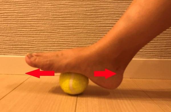 足底筋膜リリース