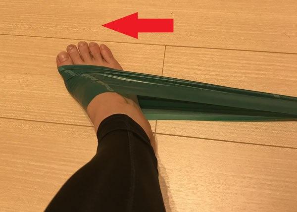 後脛骨筋の筋力トレーニング