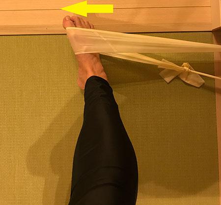 後脛骨筋トレーニング