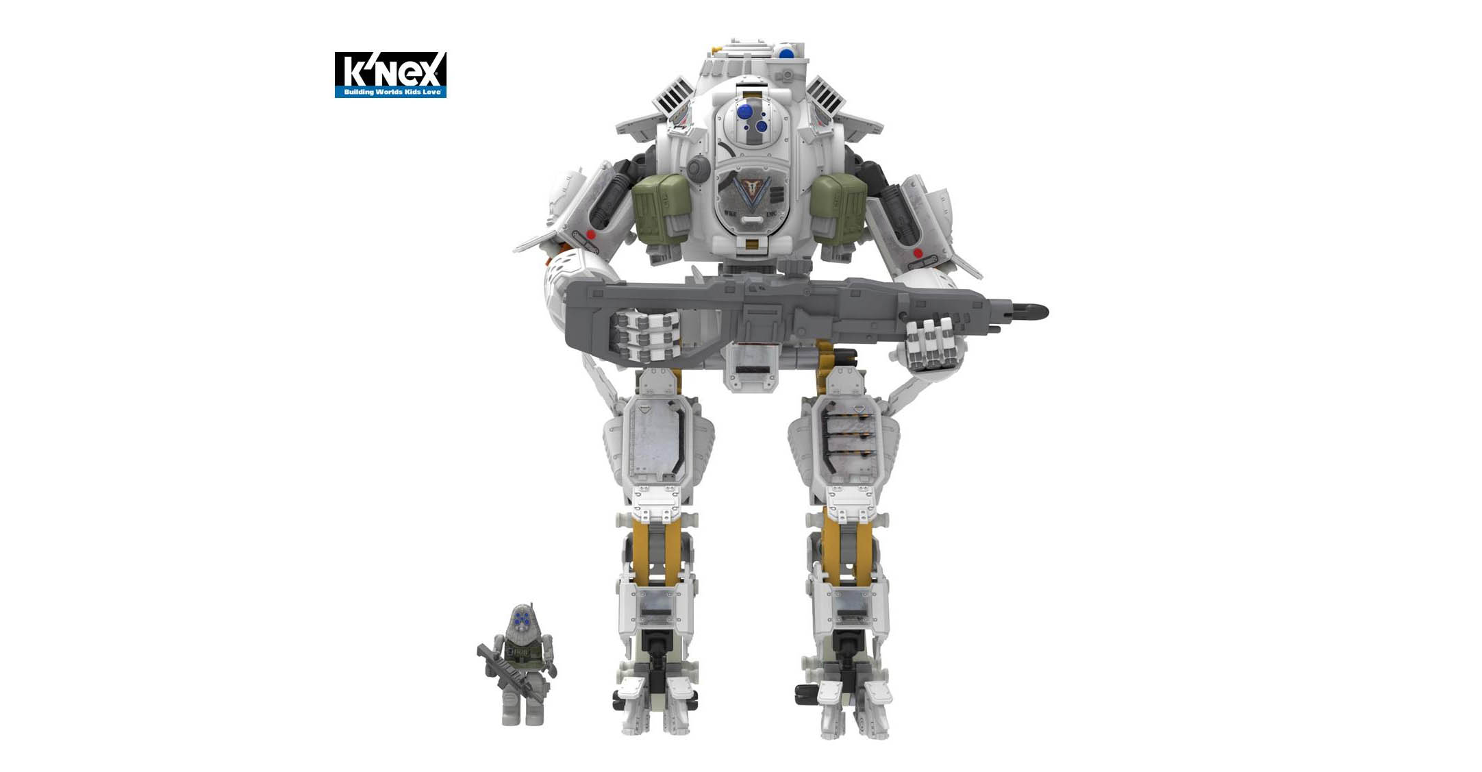 K Nex Titanfall Toys Drop In At London Toy Fair