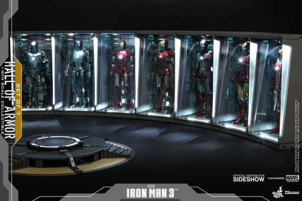 marvel-iron-man3-hall-of-armor-set-of-7-sixth-scale-accessory-hot-toys-904265-02