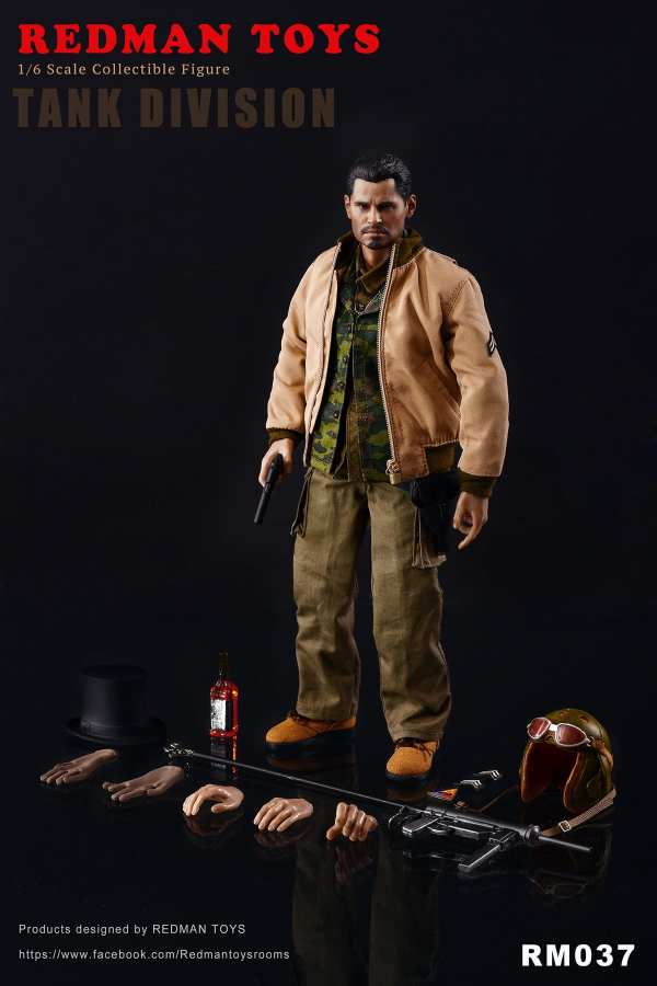 redman-toys-fury-tank-division-1-6-scale-collectible-figure-rm037-img10