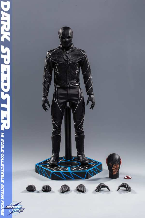 comic - NEW PRODUCT: Soosootoys: 1/6 black flash Dark speedster movable doll SST010 Soosootoys-dark-speedster-SST010-1-6-scale-figure-img14