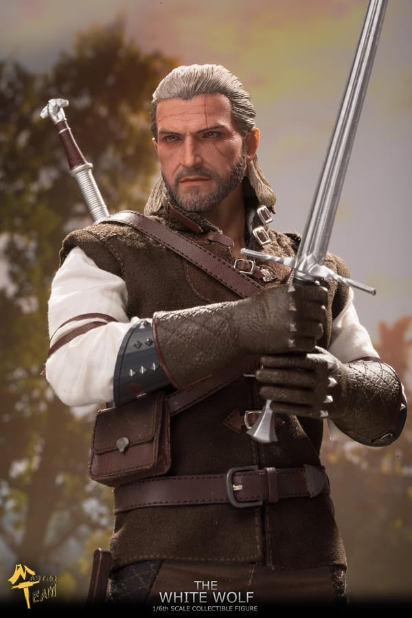 MTTOYS 1//6 Scale The White Wolf Geralt of Rivia Witcher Dagger Model Plastic