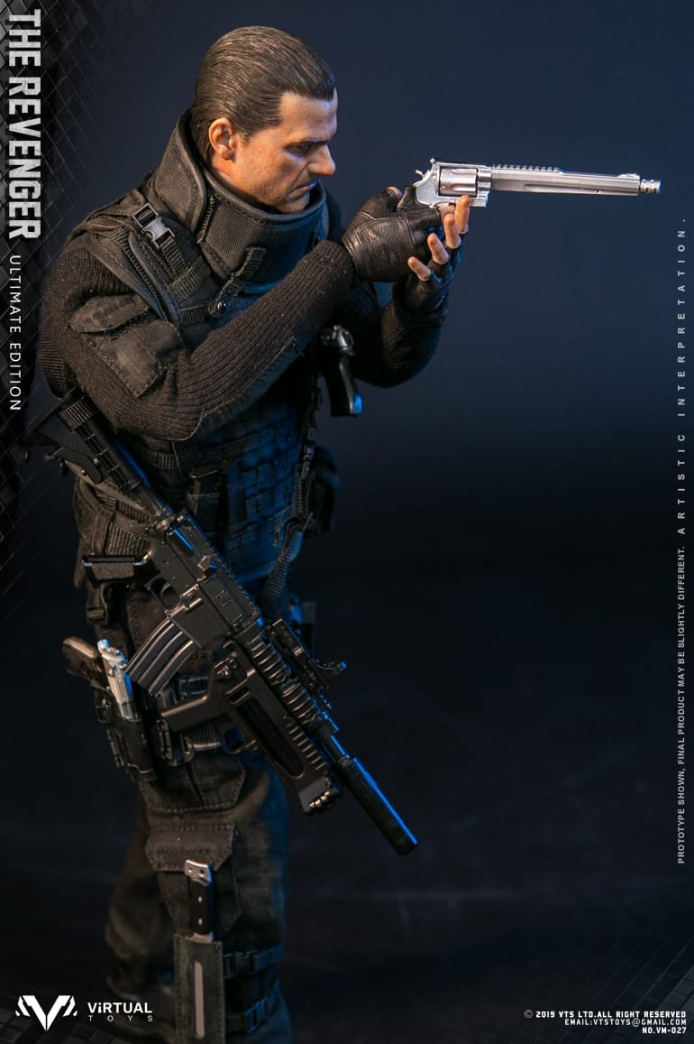 VTS the revenger ultimate edition punisher revolver 1//6 scale toys soldier dam