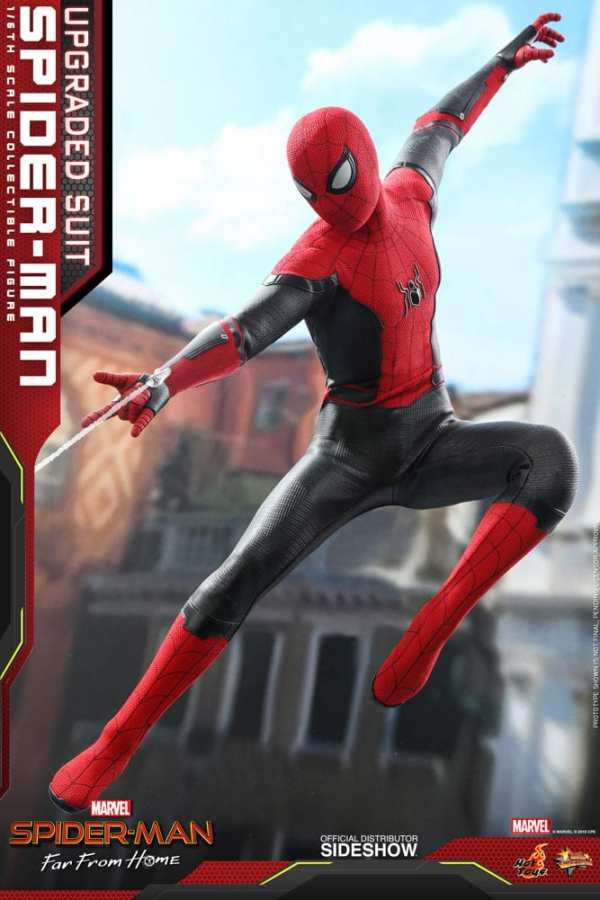Spider Man Upgraded Suit Spider Man Far From Home Sixth Scale Figure Toy Origin