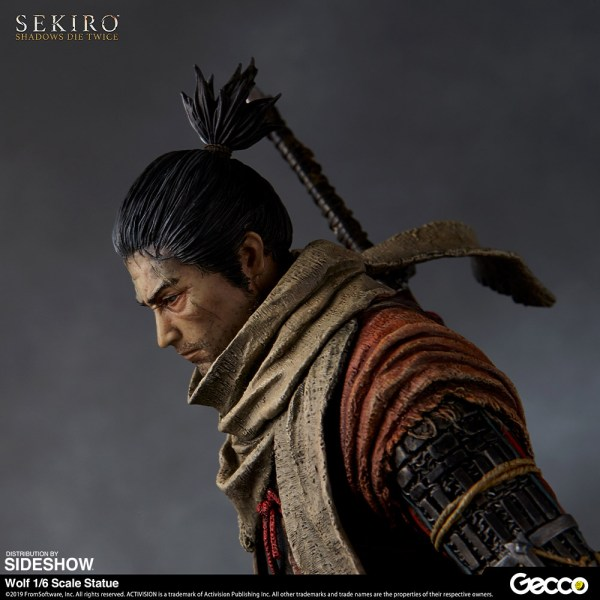 Wolf Sekiro Shadows Die Twice 1 6 Scale Statue Toy Origin