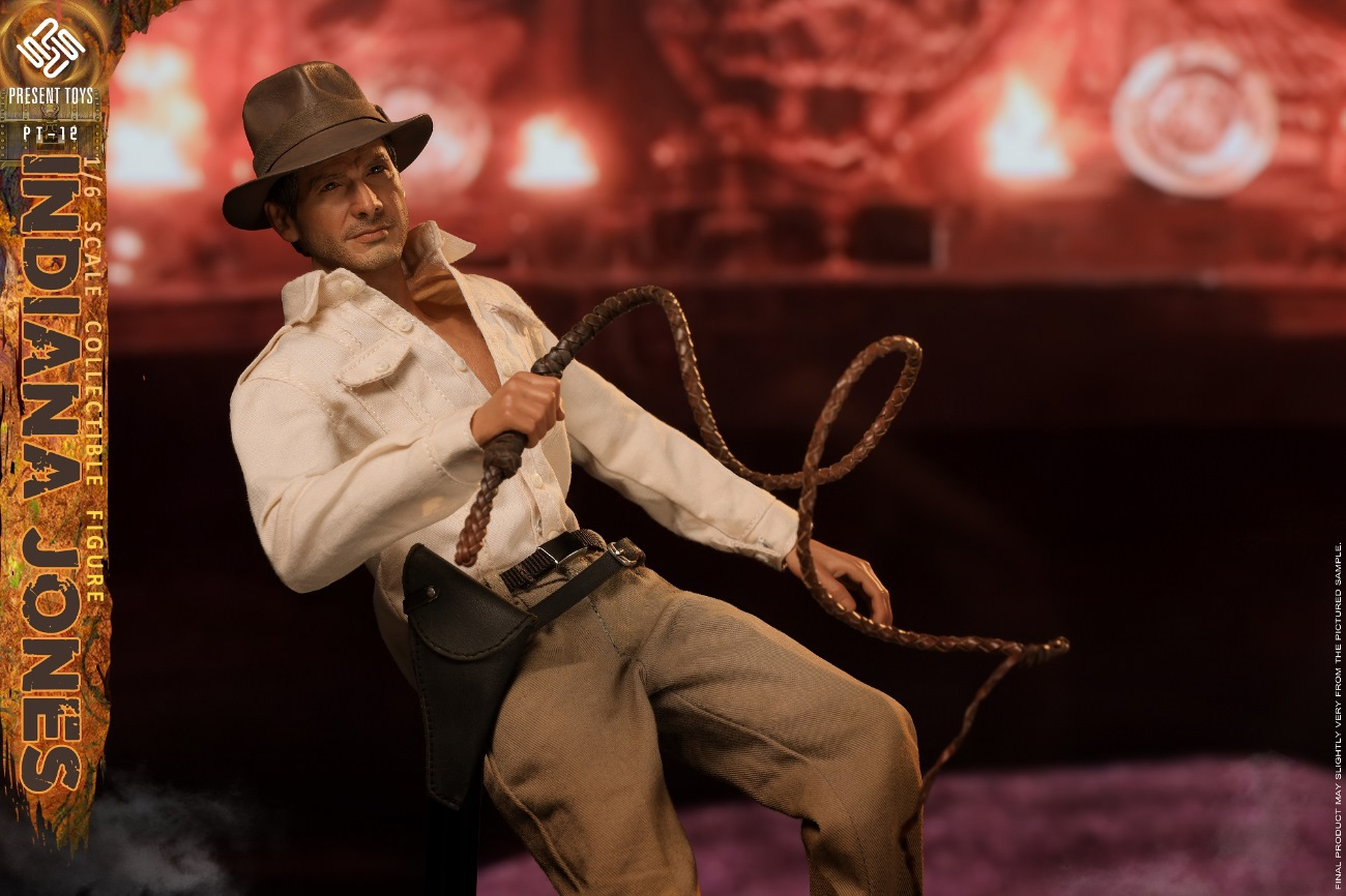PRESENT TOYS 1//6th PT-sp12 Indiana Jones Raiders of the Lost Ark Soldier Figure