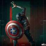iron-studios-zombie-captain-america-1-10-scale-statue-marvel-what-if-zombies-img11