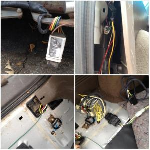Replacing 4 Pin trailer wiring with pics  Toyota 4Runner