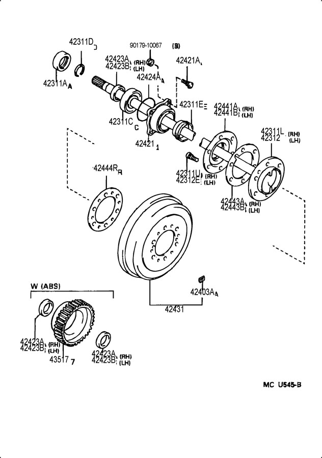 1999 Toyota Camry Suspension Parts Diagram Html