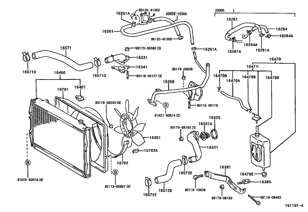 medium resolution of how many coolant hoses are there hoses2 png