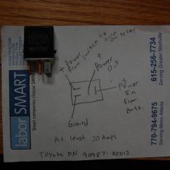 Denso 12v Alternator Wiring Diagram Australian Single Light Switch Relay Schematic