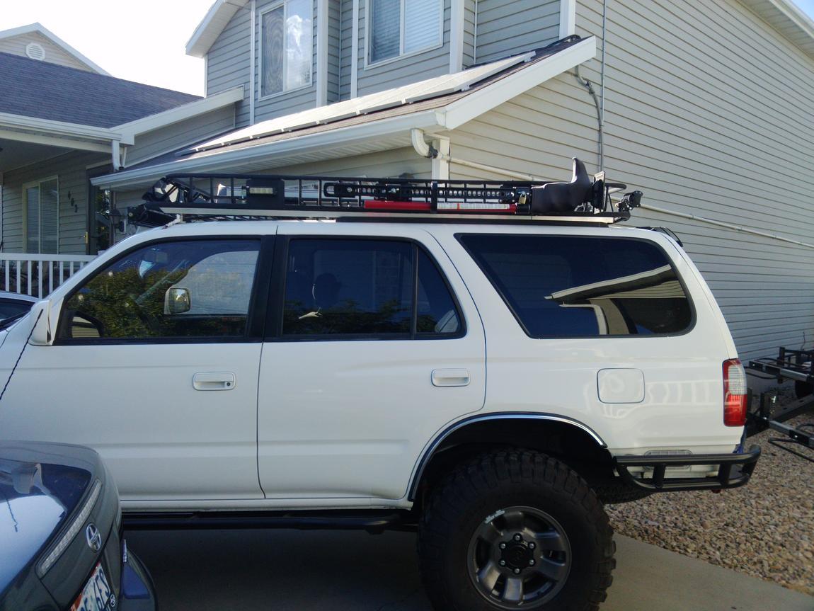 Inexpensive Full Length Roof Rack (Curt Rack)