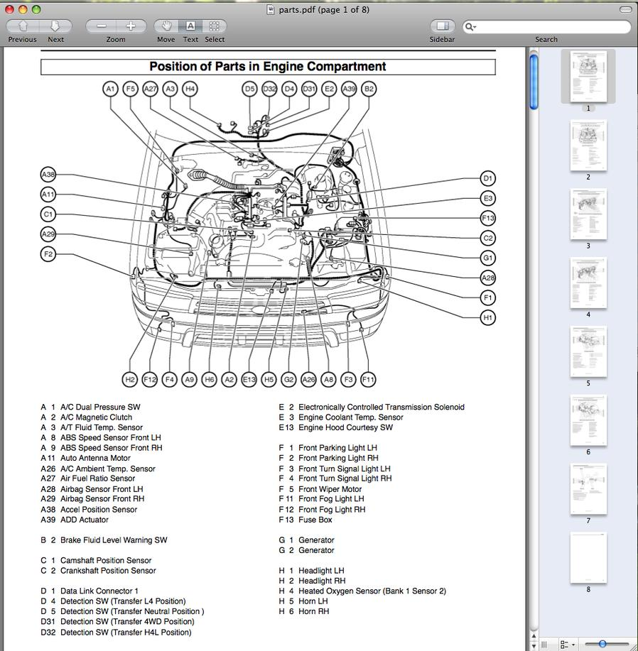 medium resolution of 1998 toyota tacoma engine diagram wiring diagram row 2003 tacoma engine diagram