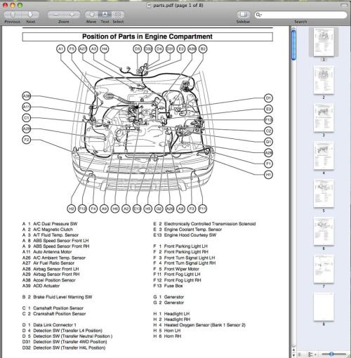small resolution of 1998 toyota tacoma engine diagram wiring diagram row 2003 tacoma engine diagram