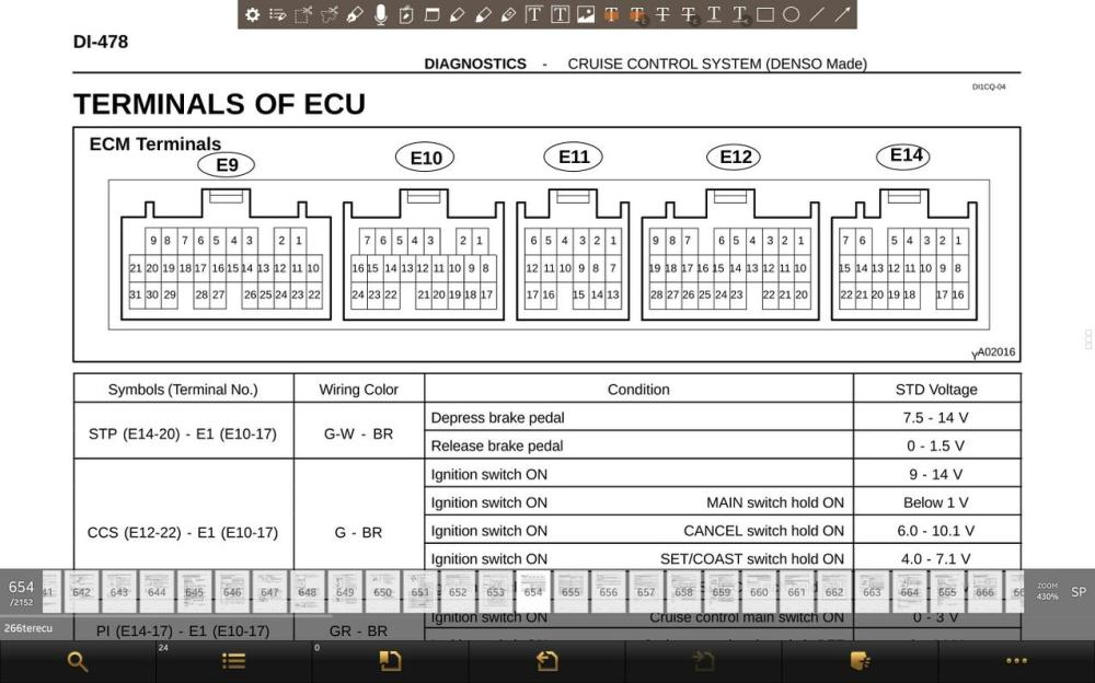 medium resolution of toyota ecm wiring diagram wiring diagram centre 74 ecu pin diagram