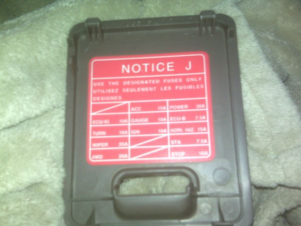 Fuse Box Diagram Also 2001 Toyota Sequoia Fuse Box Diagram Also 2011