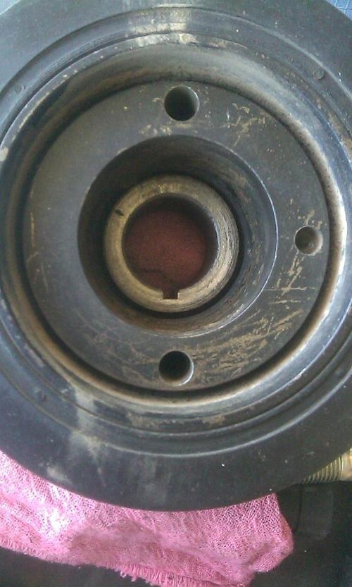 small resolution of reinstalling crankshaft pulley image 139 jpg
