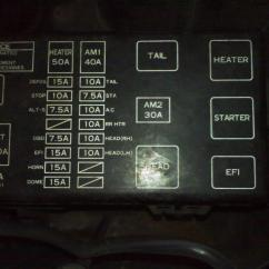 1999 Toyota 4runner Brake Controller Wiring Diagram Chevy 4 Pin Trailer Limited Need Fuse Box For 2001
