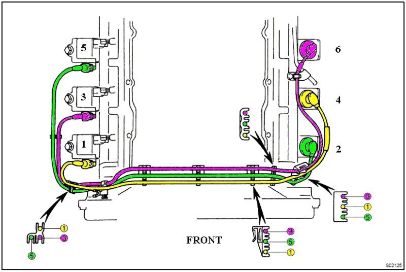 97 3 4 liter 4runner engine diagram